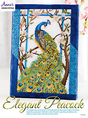 Elegant Peacock Cross Stitch Pattern