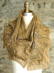 Flan Shawl Knit Pattern
