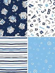 Baby Boutique 1/2-Yard - 4/Pkg.