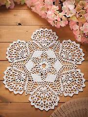 Flourishing Fans Doily Kit