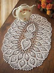 Pineapple Tea Party Doily Kit