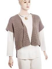 Crochet Fan Vest