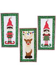 Santa's Helpers Wall Hanging Pattern