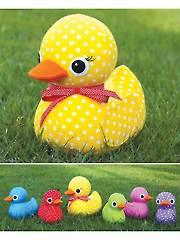 Five Little Ducks Sewing Pattern