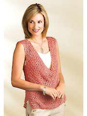 Indus Tank Top Knit Pattern