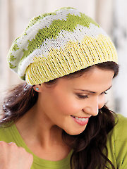 ANNIE'S SIGNATURE DESIGNS: Coastline Hat Knit Pattern