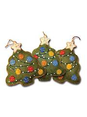 Victorian Christmas Tree Ornament Sewing Kit
