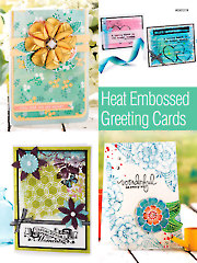 Heat Embossed Greeting Cards