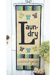 Laundry Days Wall Hanging Pattern