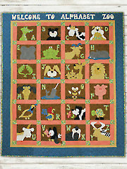Welcome to Alphabet Zoo Quilt Pattern