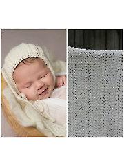 HRH Baby Blanket & Bonnet