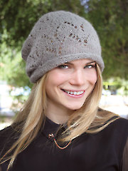 ANNIE'S SIGNATURE DESIGNS: Wigwam Lace Hat Knit Pattern
