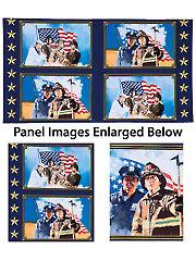 """American Heroes Panel - 24"""" x 42"""""""