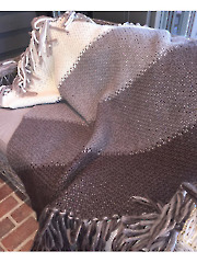 Warm and Toasty Blanket Knit Pattern