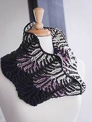 Lilac Vines Cowl Knit Pattern
