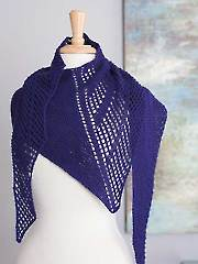 Night At the Museum Shawl Knit Pattern