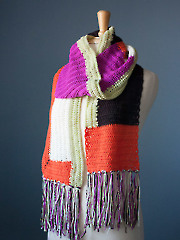 Anthologie Crochet Scarf