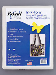"In-R-Form Single Sided Fusible Foam Stabilizer - 58"" x 36"""