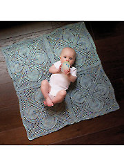 Dogwood Baby Blanket Knit Pattern