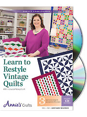 Learn to Restyle Vintage Quilts Class DVD