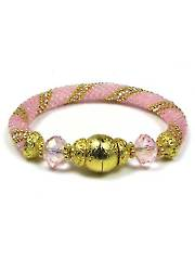 Pink on Pink Bead Crochet Bracelet Kit