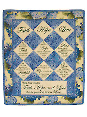 Greatest is Love Quilt Pattern