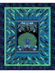 Enchanted Plume Quilt Kit