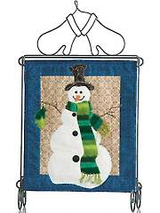 Cozy Snowman Mini Wall Hanging Pattern