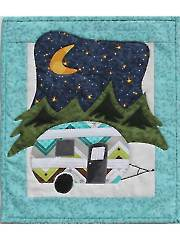 Little Camper Mini Wall Hanging Pattern