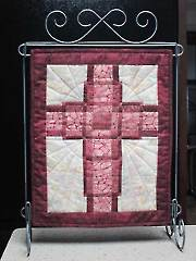 Woven Cross Mini Wall Hanging Pattern