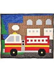 Fire Engine Quilt Pattern