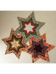 Fancy Star Candle Mat Pattern