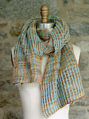 Churros Scarf Knit Pattern