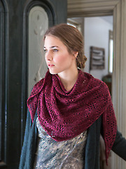 Ceonothus Shawl Knit Pattern