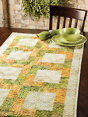 Perfect Squares Table Runner Pattern