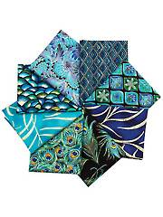 Enchanted Plume Fat Quarters - 8/Pkg.