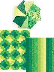 Ambience Emerald Isle Roll - 8 Fat Quarters & 2 (1/2)-Yard Cuts