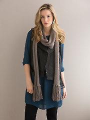 Zing Scarf Knit Pattern