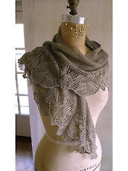 Empreinte Shawl Knit Pattern