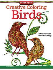 Creative Coloring: Birds