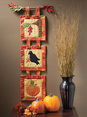 EXCLUSIVELY ANNIE'S QUILT DESIGNS: Welcome Fall Wall Hanging Pattern