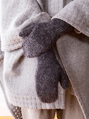 Snug Mittens Knit Pattern
