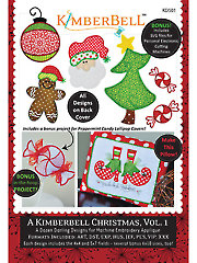 A Kimberbell Christmas Volume 1 Embroidery CD