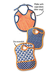 Tiny Tot Bibs Sewing Pattern