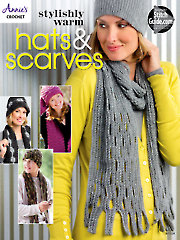 Stylishly Warm Hats & Scarves Crochet Patterns