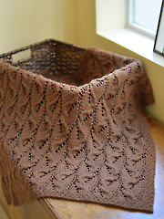 Travelling Cables Blanket Knit Pattern