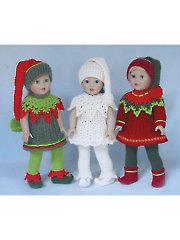 Santa's Lit'l Elves Crochet Pattern
