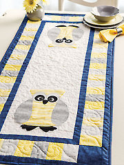 Night Owl Table Runner Pattern