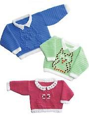 Baby Owl Sweaters Crochet Pattern