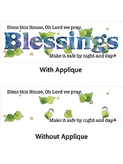 "Blessings Panel - 6"" x 18"""